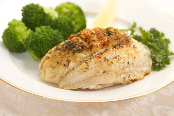 Crabmeat Stuffed Flounder